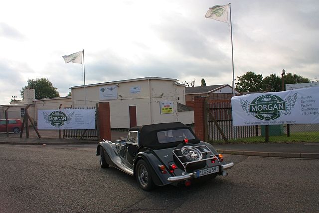 Morgan Cars visitors' centre