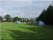 SX5973 : Plume of Feathers Camp Site, Princetown by Alex Campbell