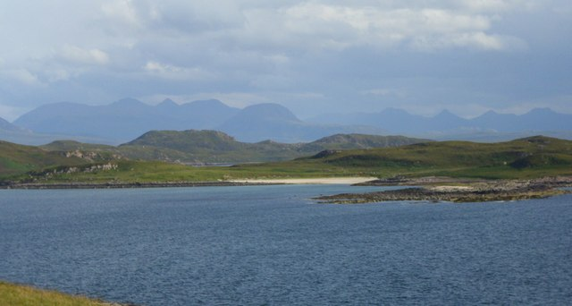 Isle Ristol from the mainland