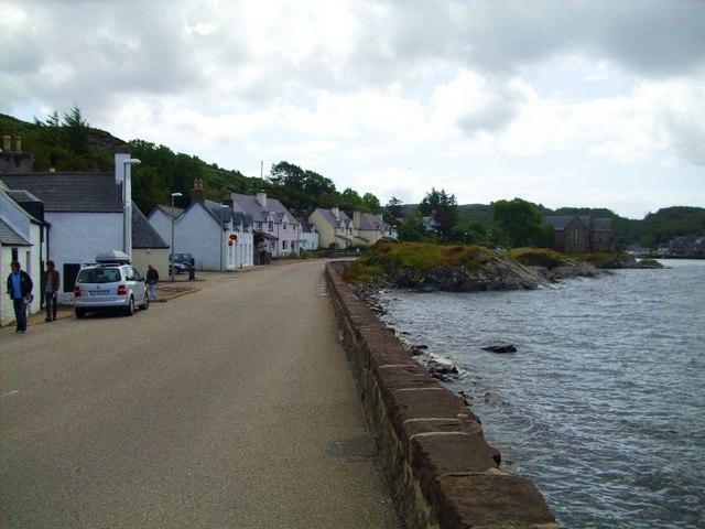 Lochinver village