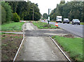 SK6545 : Footpath improvements by Alan Murray-Rust