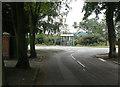 SK6343 : Woodside Road bus stop by Alan Murray-Rust