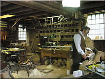 SJ6903 : Inside a workshop at Blists Hill Open Air Museum (7) by Basher Eyre
