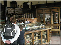 SJ6903 : Inside the chemists at Blists Hill Open Air Museum by Basher Eyre