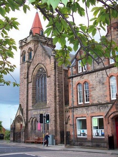 Kirk O' Field church Edinburgh