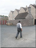 "SJ6903 : ""Victorian"" workman at Blists Hill Open Air Museum (2) by Basher Eyre"