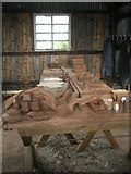 SJ6903 : Inside a workshop at Blists Hill Open Air Museum (8) by Basher Eyre