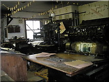 SJ6903 : Inside a workshop at Blists Hill Open Air Museum (9) by Basher Eyre