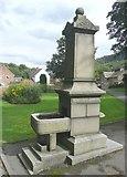 SE0125 : Drinking Fountain, Cragg Road, Mytholmroyd by Humphrey Bolton