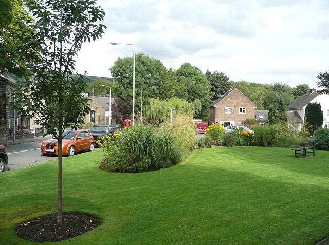Public garden, Mytholmroyd
