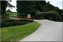 ST8160 : Barton Farm swing bridge by Mark Anderson