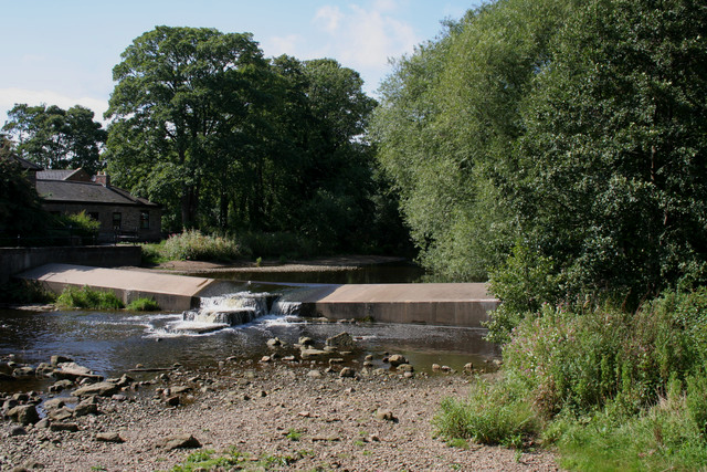 Weir, River Skell