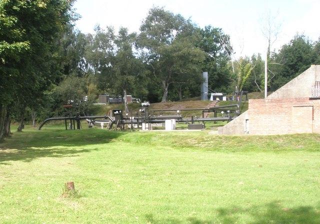 Water treatment works at Hamble
