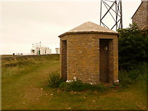 SX9456 : Berry Head: lookout-type building by Chris Downer