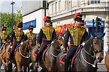 TQ2780 : The King's Troop Royal Horse Artillery by Martin Addison