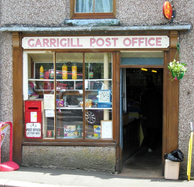 Garrigill Post Office