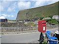 SX1496 : Crackington Haven: postbox № EX23 69 by Chris Downer