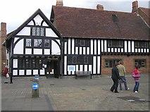 SP2055 : Public Library, Stratford on Avon by Kenneth  Allen