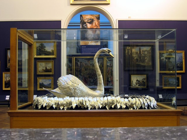 The Silver Swan, Bowes Museum