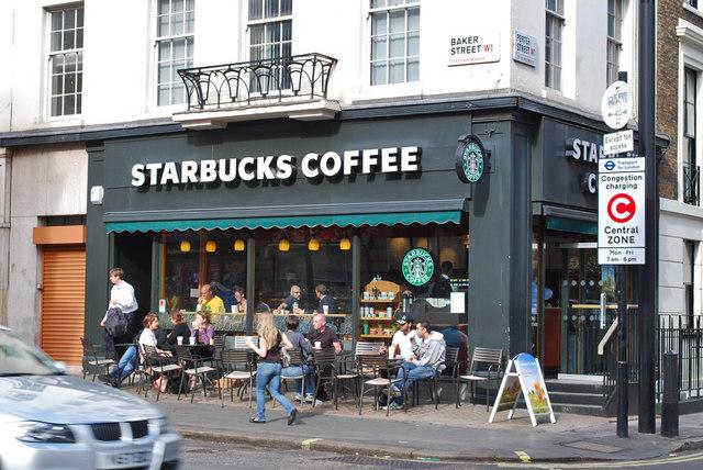 Starbucks, Baker Street