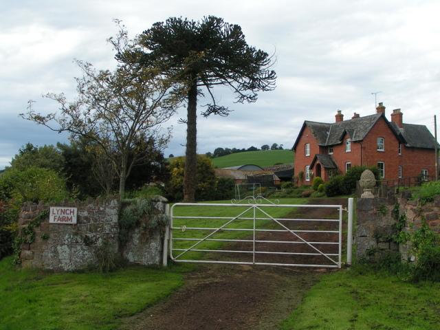 Lynch Farm, west of Thorverton