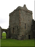 NR9057 : Skipness Castle. by adam sommerville