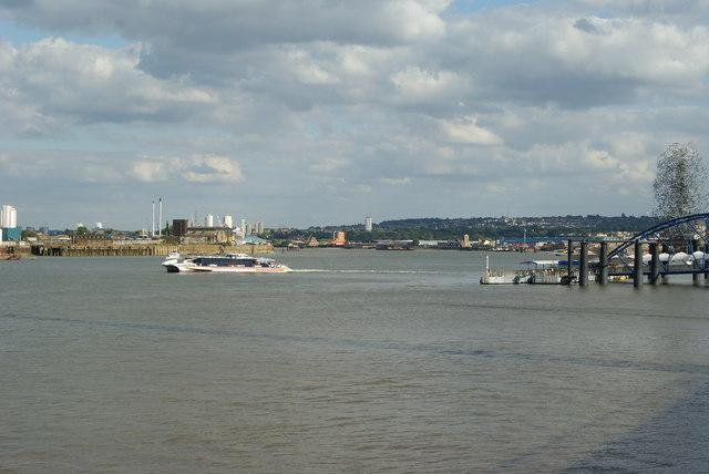 River Thames Near the Millennium Dome