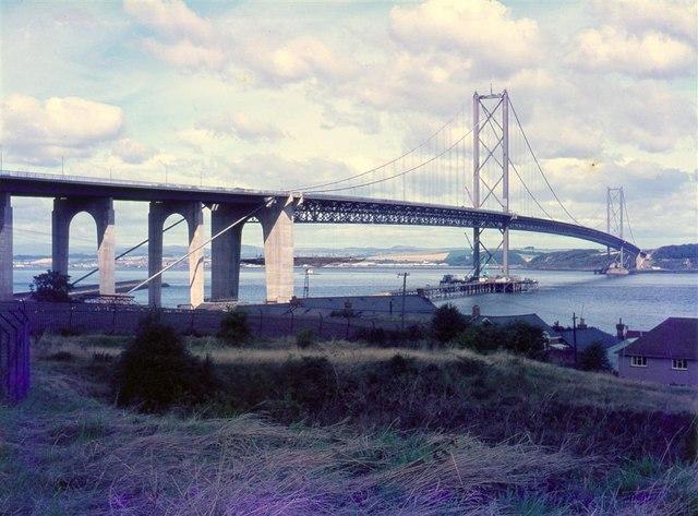 Forth Road Bridge – 1964