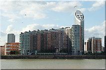 TQ3880 : Flats at Blackwall, London by Peter Trimming
