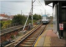 SJ8297 : Cornbrook Tram Station by Gerald England
