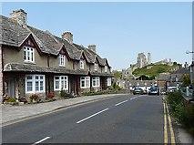 SY9682 : East Street, Corfe Castle by Robin Drayton