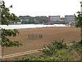 TQ7468 : Development land by the Medway by Stephen Craven