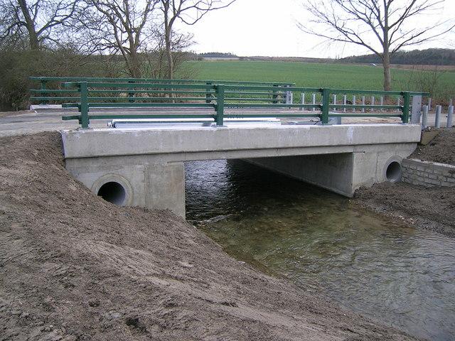 Rebuilt West Glen Bridge