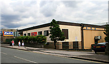 SK0394 : Glossop Leisure Centre by David Lally