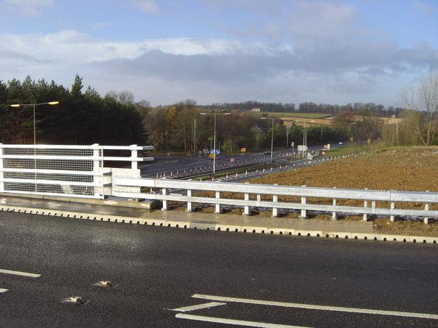 New B6403 Flyover Bridge & A1
