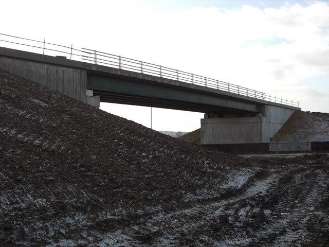 New Flyover Bridge, A1 Colsterworth