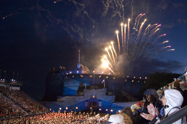 Fireworks display, Edinburgh Military Tattoo