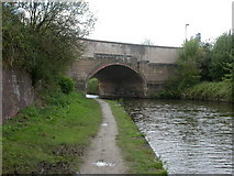 SJ8297 : St Georges, road bridge by Mike Faherty
