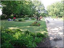 TQ3187 : Mckenzie Flower Garden by Peter S