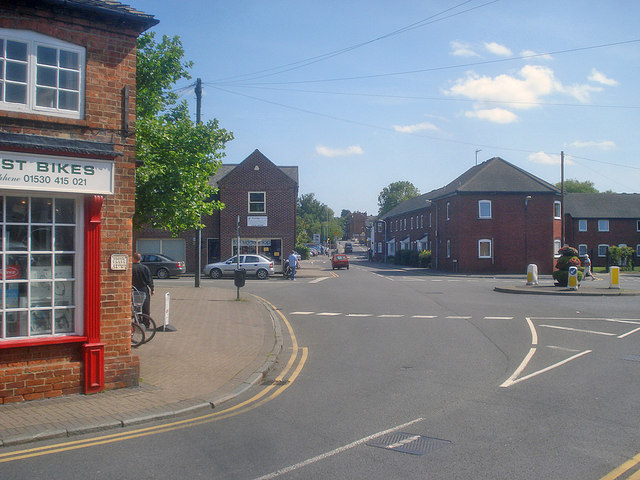 Roundabout at Elford Street