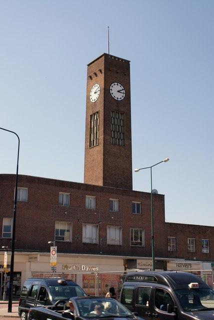 Crewe Town Clock