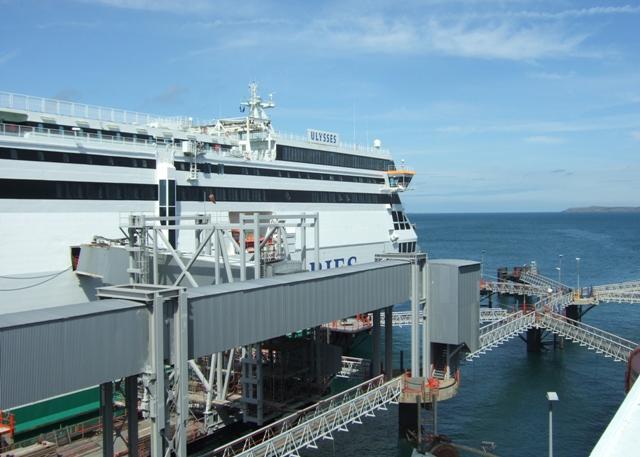 Holyhead ferry port