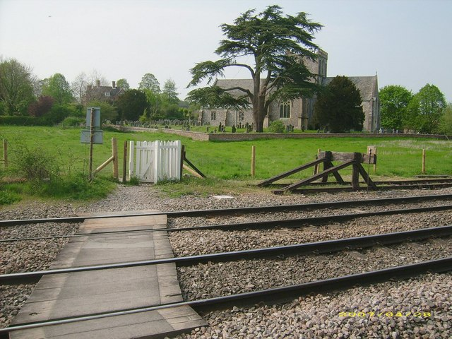 Railway Crossing, Great Bedwyn