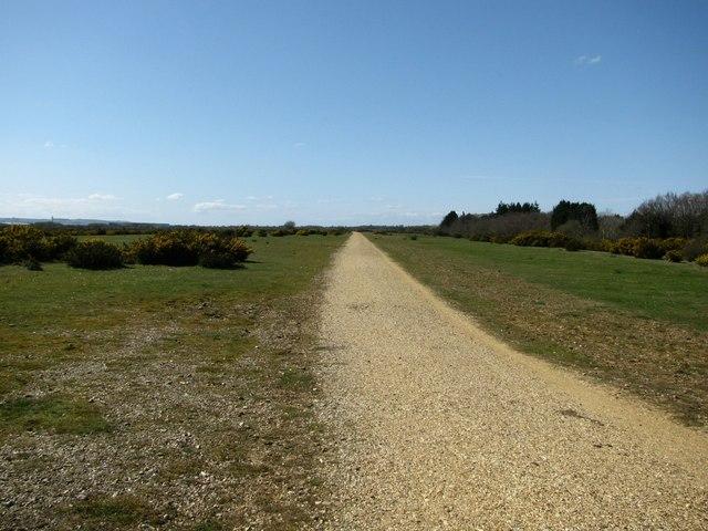 Cycle Track, Greenham Common