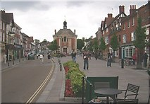 SU7682 : Henley On Thames (town centre) by Kurt C