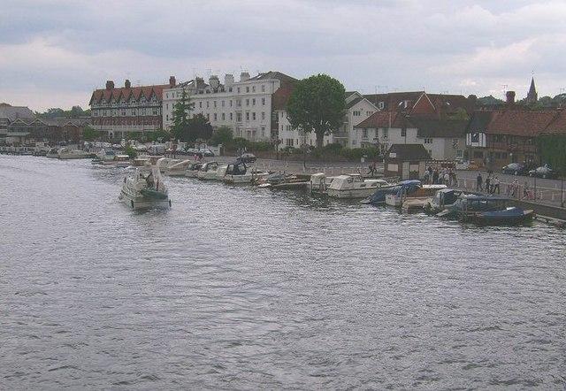 The River Thames, Henley On Thames