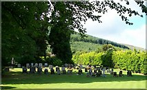J3630 : The Church of Ireland burial ground at St Colman's Church by Eric Jones