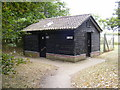 TM2564 : Public Convenience off the A1120 Several Road by Adrian Cable