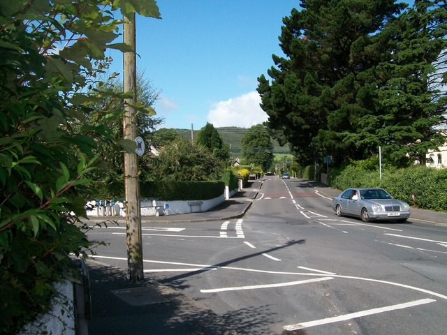 The junction of Tullybrannigan Road with Green Hill Park and Shan Slieve Drive
