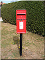 TM3878 : Mount Pleasant Postbox by Adrian Cable